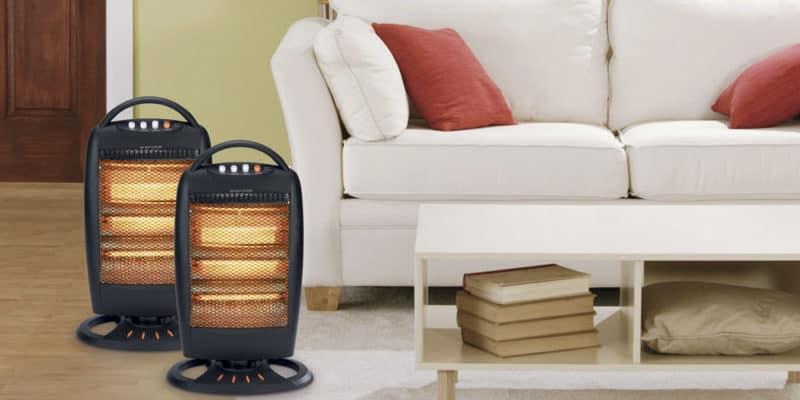 conseils de s curit pour le radiateur halog ne chauffage maison. Black Bedroom Furniture Sets. Home Design Ideas