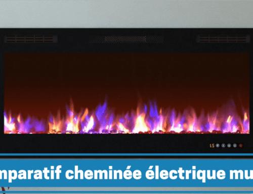 Guide d'achat et comparatif des meilleures cheminées électriques murales
