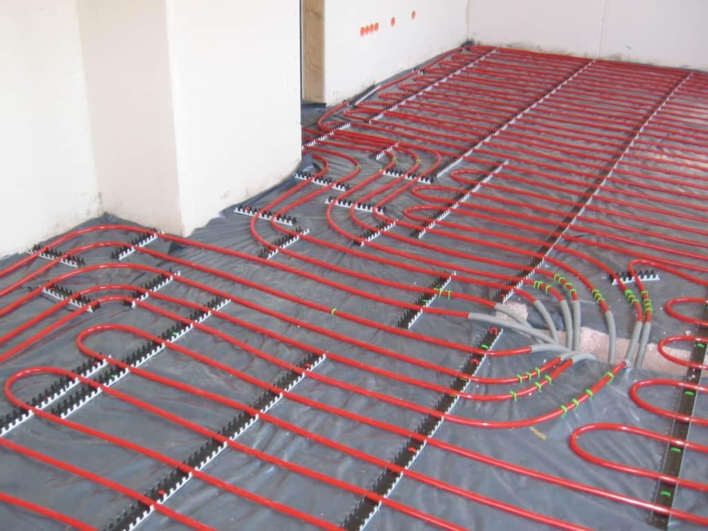 Chauffage plancher radiant